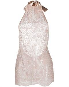 Платье с вырезом халтер Belle et bon bon