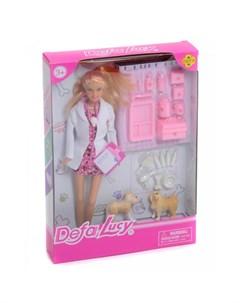 Кукла Ветеринар с аксессуарами Defa