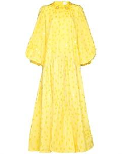 Расклешенное платье с пайетками Ashish