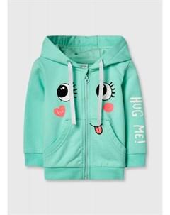 Трикотажная куртка для девочек Ostin