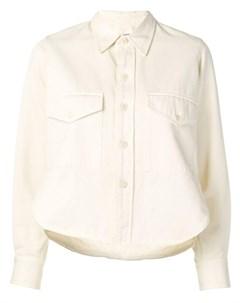 Рубашка с нагрудным карманом на пуговице Ami paris