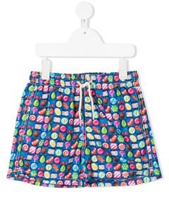 Плавки шорты с принтом Candy Mc2 saint barth kids