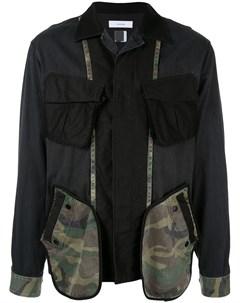 Куртка в стиле пэчворк Facetasm