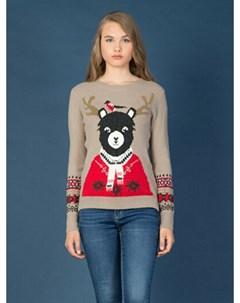 COLINS бежевый женский свитеры COLIN'S
