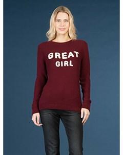 COLINS бордовый женский свитеры COLIN'S