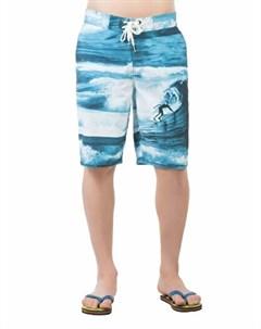 COLINS синий бирюзовый мужской пляжные шорты COLIN'S