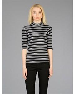 COLINS черный женский футболки длинный рукав COLIN'S