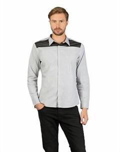 COLINS белый мужской рубашки длинний рукав COLIN'S