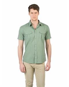 COLINS зеленый мужской рубашки короткий рукав COLIN'S