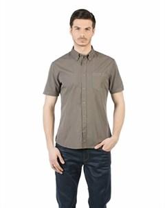 COLINS хаки мужской рубашки короткий рукав COLIN'S