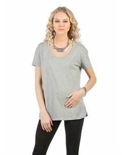 COLINS серый женский футболки короткий рукав COLIN'S