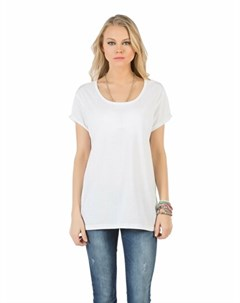COLINS белый женский футболки короткий рукав COLIN'S