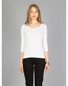 COLINS белый женский футболки длинный рукав