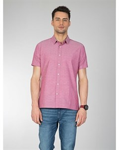 COLINS розовый мужской рубашки короткий рукав COLIN'S