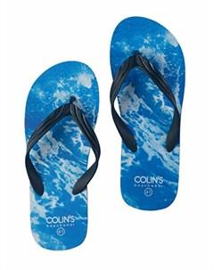 COLINS синий мужской сланцы COLIN'S