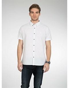 COLINS белый мужской рубашки короткий рукав COLIN'S
