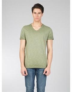 COLINS хаки мужской футболки короткий рукав COLIN'S