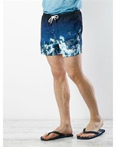 COLINS синий мужской пляжные шорты COLIN'S