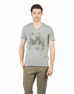COLINS серый мужской футболки короткий рукав COLIN'S