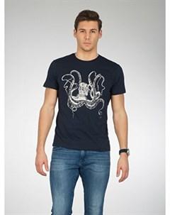 COLINS синий мужской футболки короткий рукав COLIN'S