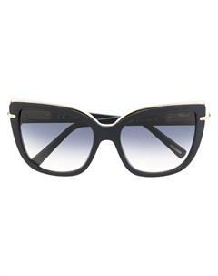 Солнцезащитные очки в оправе кошачий глаз Chopard eyewear
