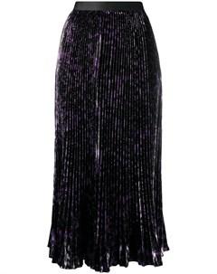 Плиссированная юбка миди Brett Dvf diane von furstenberg