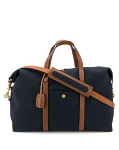 Дорожная сумка с контрастной отделкой Mismo