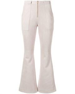 Укороченные расклешенные брюки Nadia Cynthia rowley