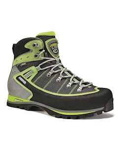 Ботинки Для Треккинга Высокие Shiraz Gv Black Green Lime Asolo