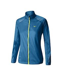 Куртка Беговая 2016 Lightweight 7D Jacket Голубой Mizuno