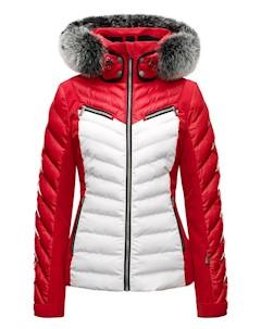 Куртка Горнолыжная 2017 18 Edie Fur Classic Red Toni sailer