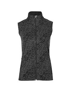 Жилет Беговой 2017 18 Lite Show Vest Черный Asics