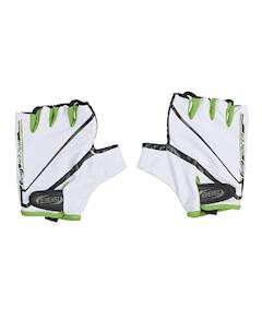 Перчатки Велосипедные Racer White Green bbb