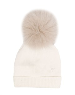 Вязаная шапка с помпоном Le bebé enfant