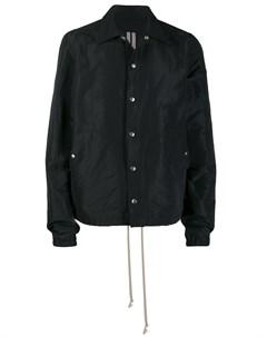 Куртка рубашка свободного кроя Rick owens