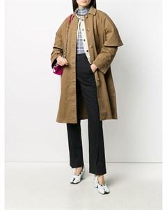 Однобортное пальто с короткими рукавами Henrik vibskov