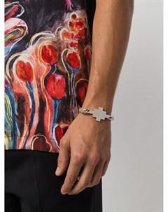 Плетеный браслет с подвеской Marcelo burlon county of milan