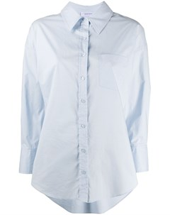 Рубашка с асимметричным подолом и длинными рукавами Anine bing