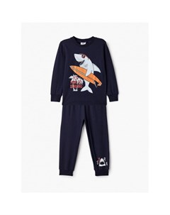 Пижама для мальчика лонгслив и брюки ПЖ М008 Repost