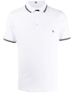 Рубашка поло с контрастной отделкой Fay