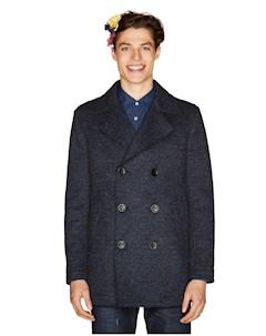 Двубортное пальто United Colors of Benetton