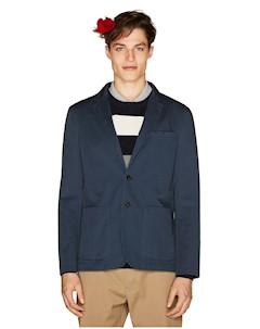 Пиджак приталенного кроя из габардина United Colors of Benetton