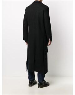 Длинное однобортное пальто Sulvam