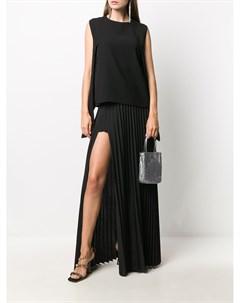 Длинная юбка со складками Vetements