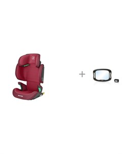 Автокресло Morion и зеркало с подсветкой для наблюдения за ребенком Speculo luce Nuovita Maxi-cosi