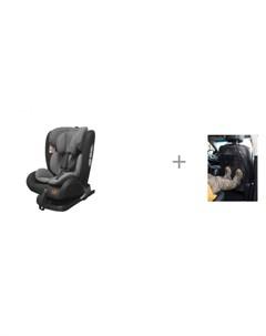 Автокресло Universal IsoFix и защита сиденья эконом АвтоБра Carrello