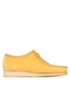 Туфли Wallabee на шнуровке Clarks originals