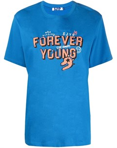 Футболка Forever Young с укороченными рукавами Sjyp