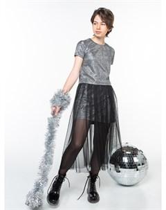 101149_OLG Костюм футболка юбка для девочки Orby