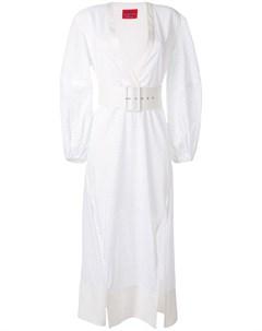 Платье миди с поясом Solace london